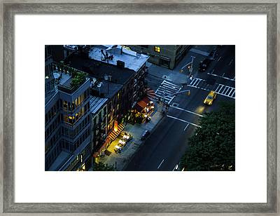On 2nd Avenue - Manhattan Framed Print