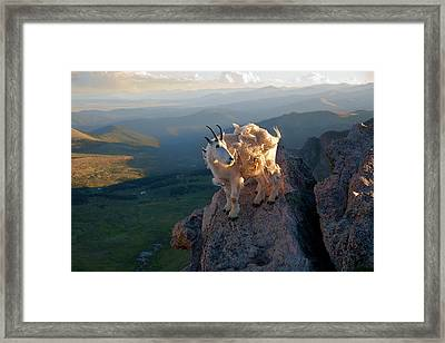 Framed Print featuring the photograph On A Clear Day by Jim Garrison