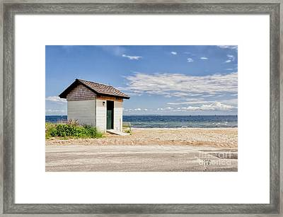 On A Clear Day Framed Print