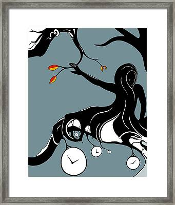On A Limb Framed Print by Craig Tilley