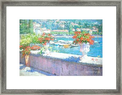 On A Morning In August Framed Print