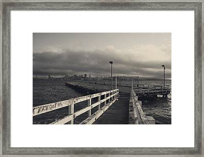 On And On Framed Print