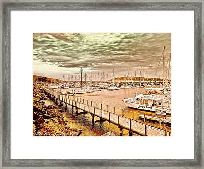 On Any Day Framed Print by Wallaroo Images