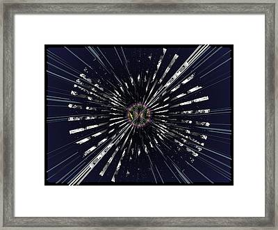 On Beyond Anon Framed Print by Tim Allen