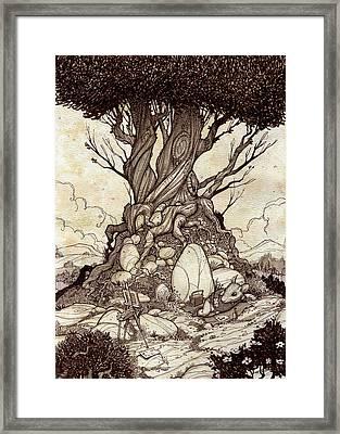 On Break Framed Print by Harry Briggs