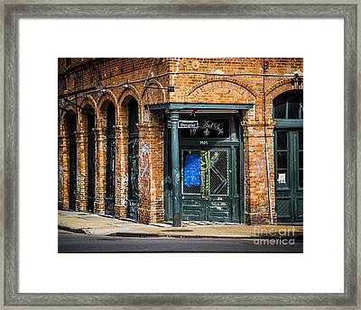 On Decatur  Framed Print by Perry Webster