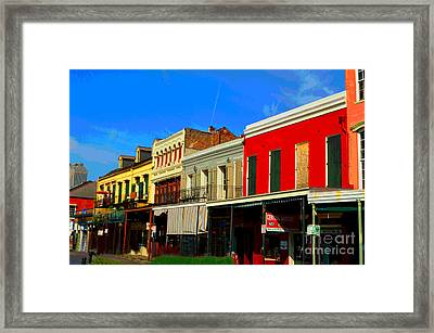 On Decatur Street Framed Print by Alys Caviness-Gober