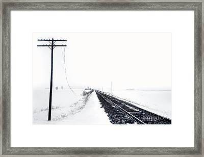 On Desolation Row Framed Print