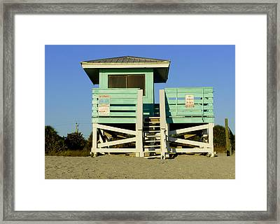 On Duty Framed Print by Laurie Perry