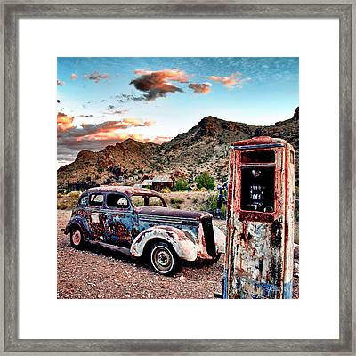 On Empty Framed Print
