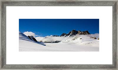 On Fox Glacier Framed Print