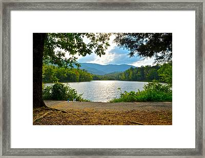 On Golden Pond Framed Print by Frozen in Time Fine Art Photography