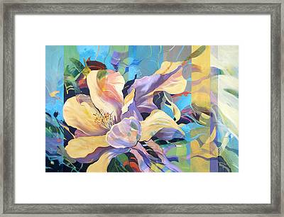 On Gossamer Wings Framed Print