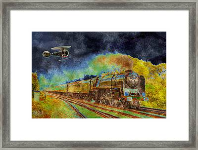 On Ground And Air Framed Print by Barbara R MacPhail