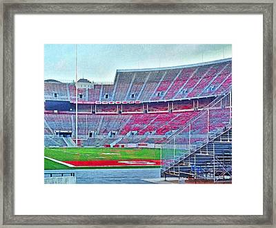 On Hallowed Ground Framed Print