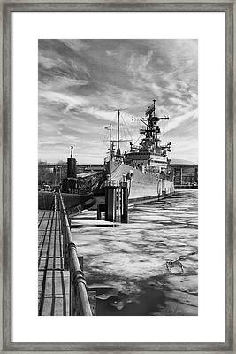On Ice Framed Print by Peter Chilelli
