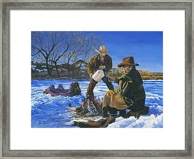 On More Cup Framed Print by Timithy L Gordon