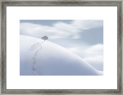 On My Own Alone Framed Print
