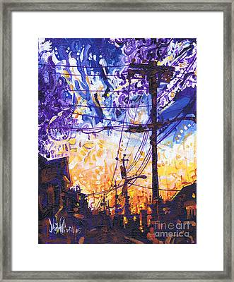 On My Way Home Framed Print by Michael Ciccotello