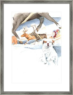 On Our Way Framed Print by Jan Irving
