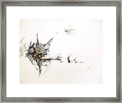 On Paper #2 Framed Print