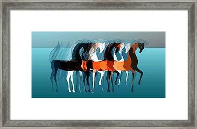 On Parade Framed Print by Stephanie Grant