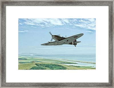 On Patrol Framed Print by John Edwards