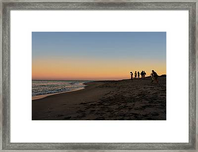 On Planet Earth Framed Print by Laura Fasulo