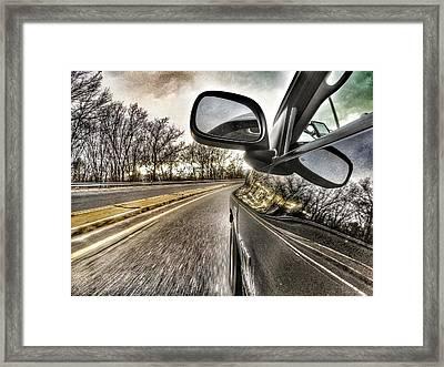 On Ramp Framed Print by Erik Kaplan