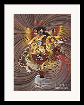 Fancy-dancer Framed Prints