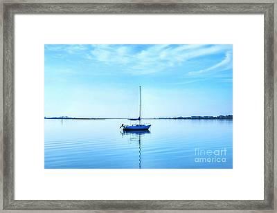 On Shallowbag Bay Framed Print