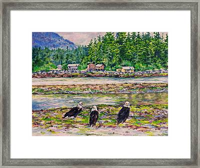 On Shore Framed Print