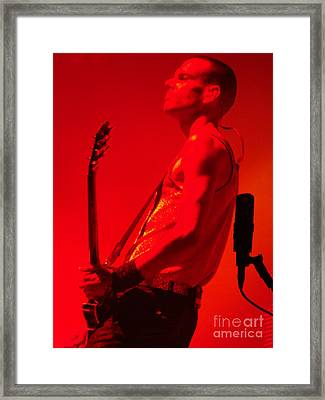 On Stage Lowlands 2010 Framed Print