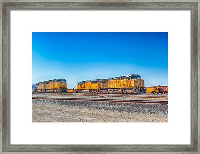 On Standby Framed Print by Jim Thompson