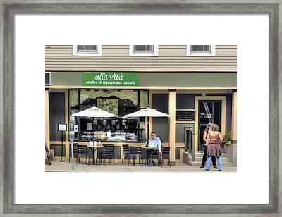 On State Street - Montpelier Vermont Framed Print