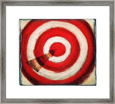 On Target Framed Print by Don Hammond