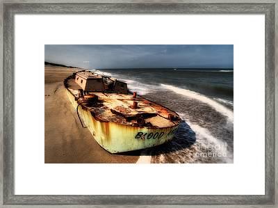 On The Beach II - Outer Banks Framed Print by Dan Carmichael