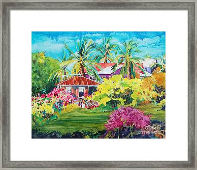 On The Big Island Framed Print