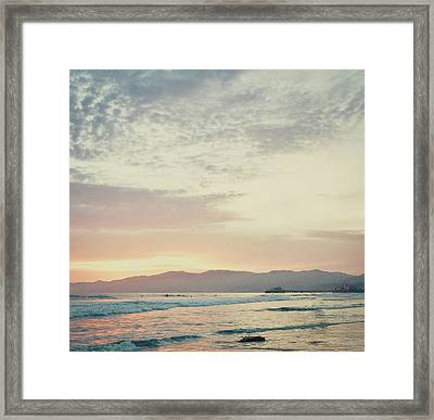 On The Coast Framed Print by Susan Bryant