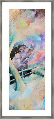 On The Edge Framed Print by Billy Granneman