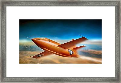 On The Edge Framed Print by Peter Chilelli