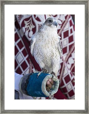 On The Fist Framed Print by Danny Pickens