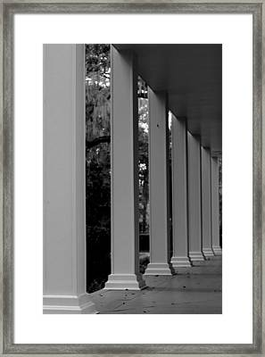 On The Front Porch Framed Print by William Tucker