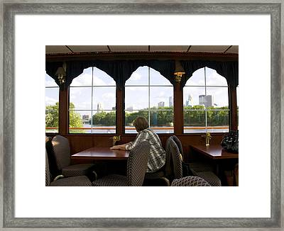 On The Inside Looking Out Framed Print by Susan Crossman Buscho