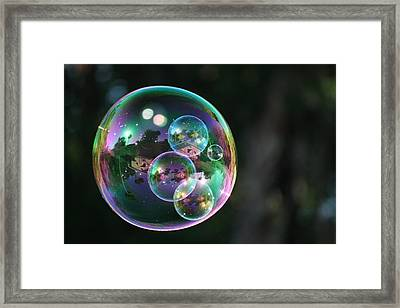On The Inside Framed Print