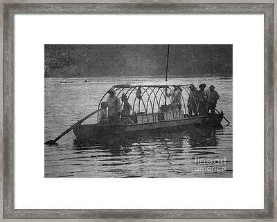 Framed Print featuring the photograph On The James 2 by Pete Hellmann