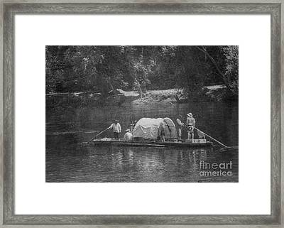 Framed Print featuring the photograph On The James by Pete Hellmann