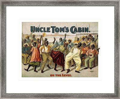 On The Levee Circa 1899 Framed Print