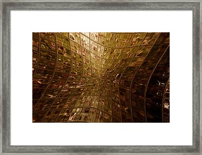 On The Moon Framed Print by Tommytechno Sweden
