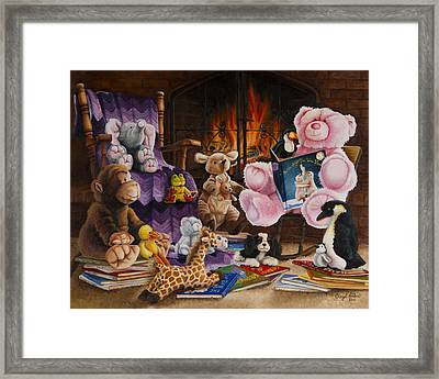 On The Night You Were Born Framed Print by Cheryl Allen